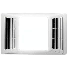 new bath fan? Broan 4-Sone 70-CFM White Bathroom Fan with Light
