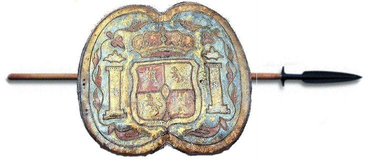 Adarga de Presidiales o Dragones de Cuera 1780