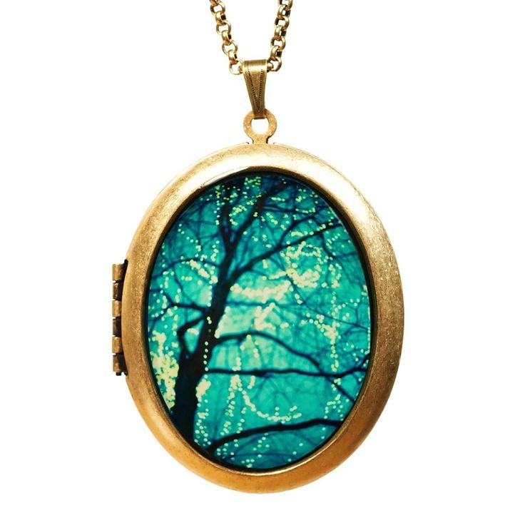 Fab.com | Twinkle Locket Necklace