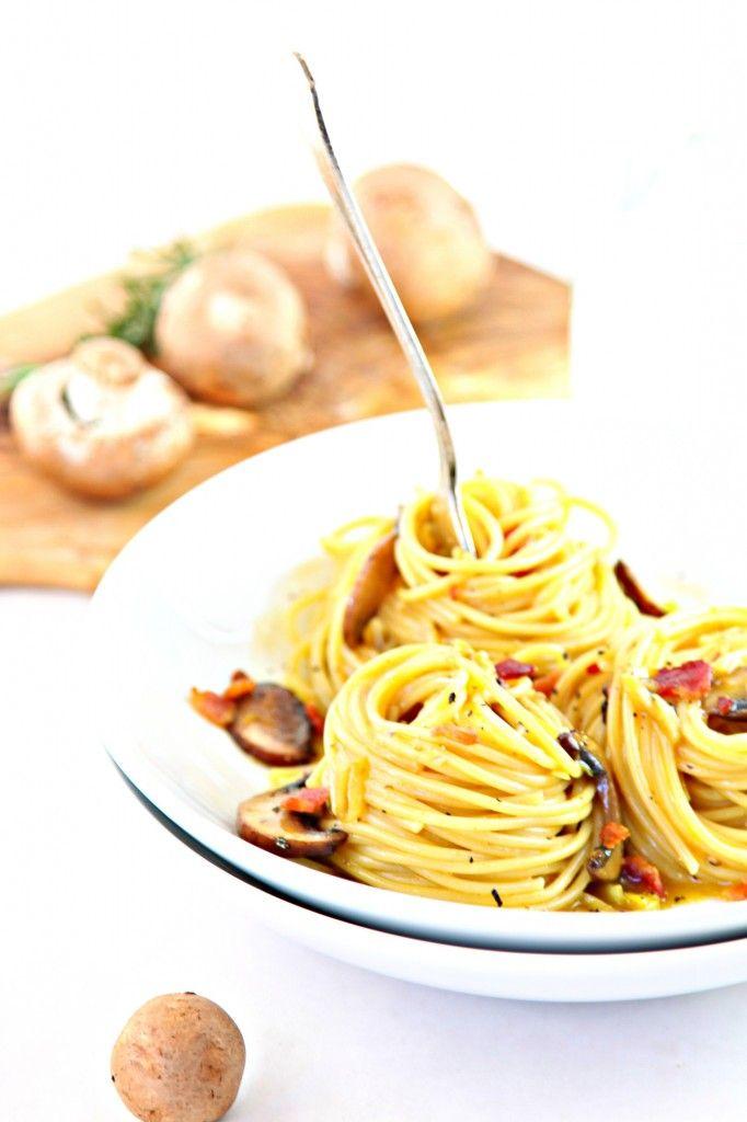 pasta carbonara with leeks and lemon recipes dishmaps pasta with leeks ...