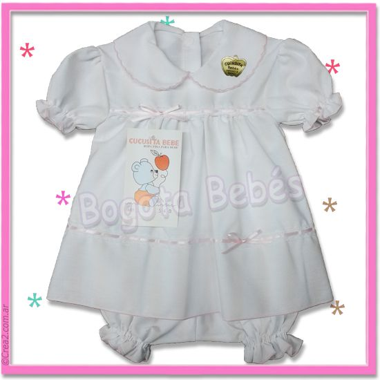 BABILIN MANGA CORTA, Ropa de Bebes por Mayor - Bogota Bebes