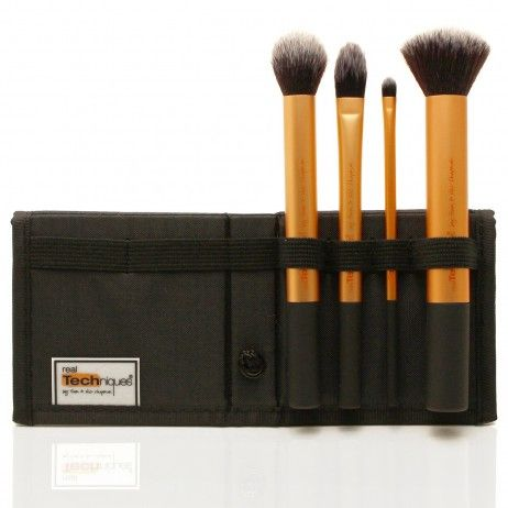 Kit 4 Pinceaux Core Collection REAL TECHNIQUES
