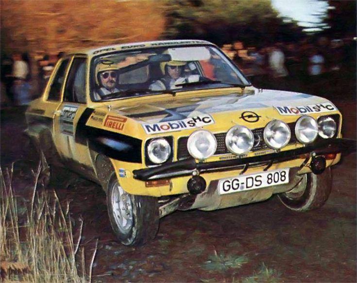 RAC 1974 (Röhrl Walter - Berger Jochen) Opel Ascona 1.9 SR