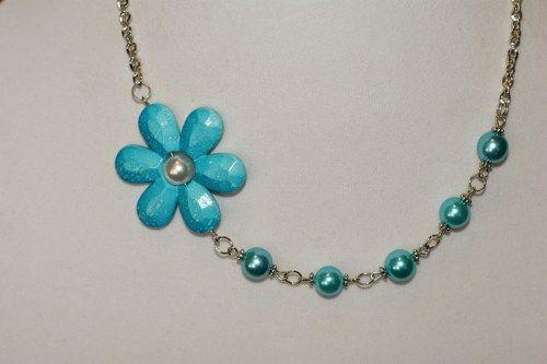 Turquoise wedding jewelry - turquoise necklace  | LesBijouxLibellule - Jewelry on ArtFire