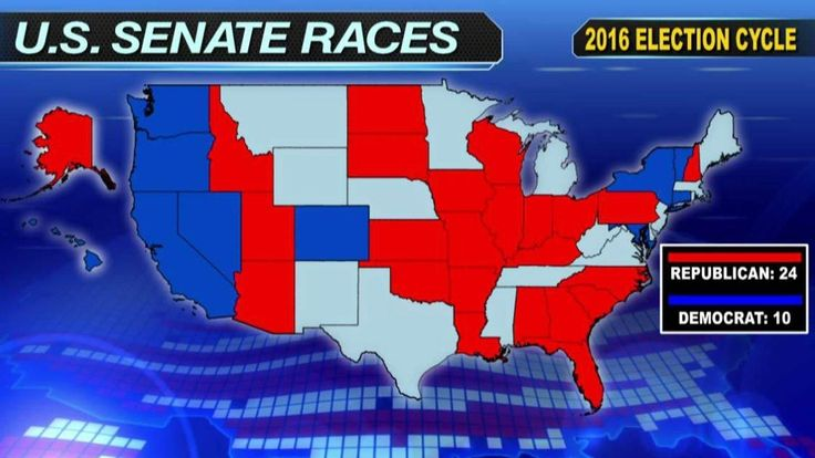 BATTLE FOR THE SENATE Races to watch as the fight for control heats up