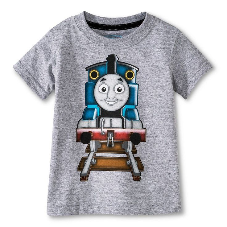 Toddler Boys' Thomas the Train Tee - Heather Gray 3T, Toddler Boy's, Silver