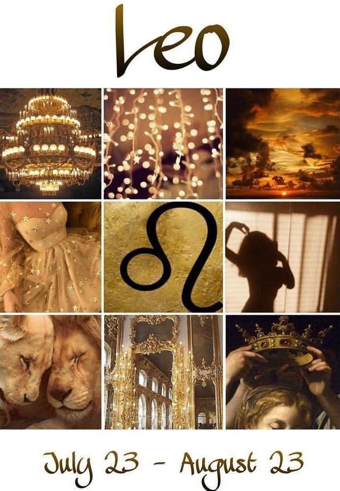 Leo Ig Aestheticvoid Aesthetic Gold Y Edit Zodiac Leo Art Astrology Leo Zodiac Signs Leo