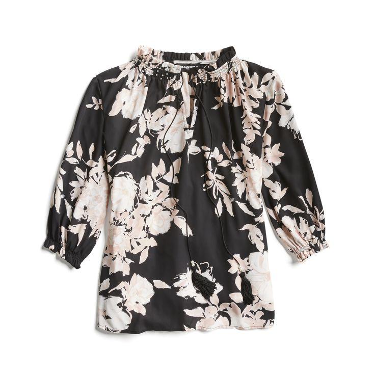 Stitch Fix Spring Stylist Picks: Feminine floral blouse