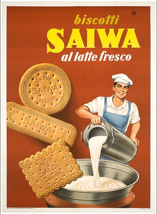 ✔️ Biscotti Saiwa Genova - Carboni 1963