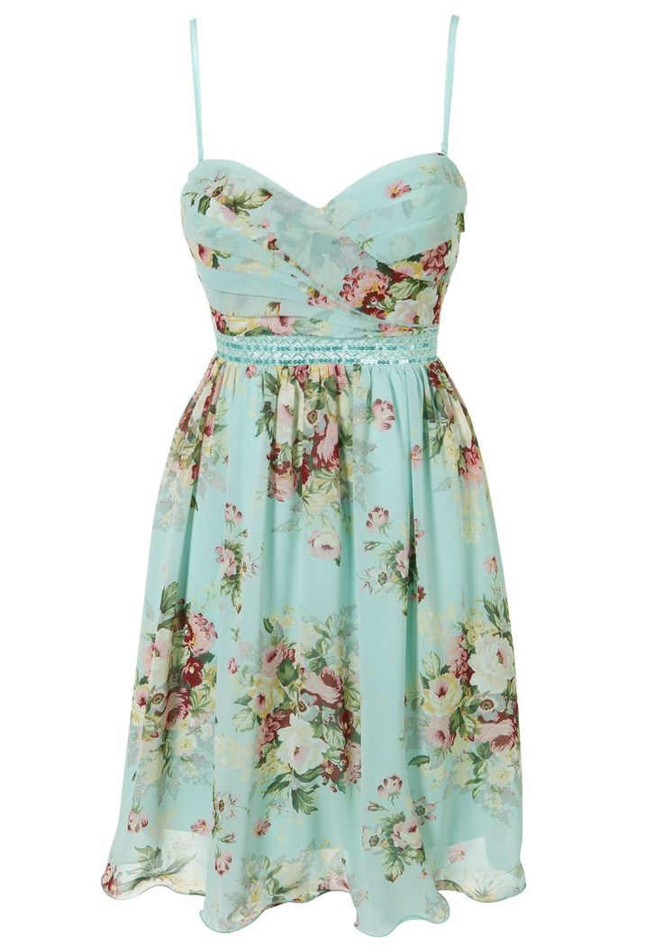 Clothing at Tesco | Ice Blossom Pastel floral dress > dresses > Women's Occasionwear > Evening & Occasionwear