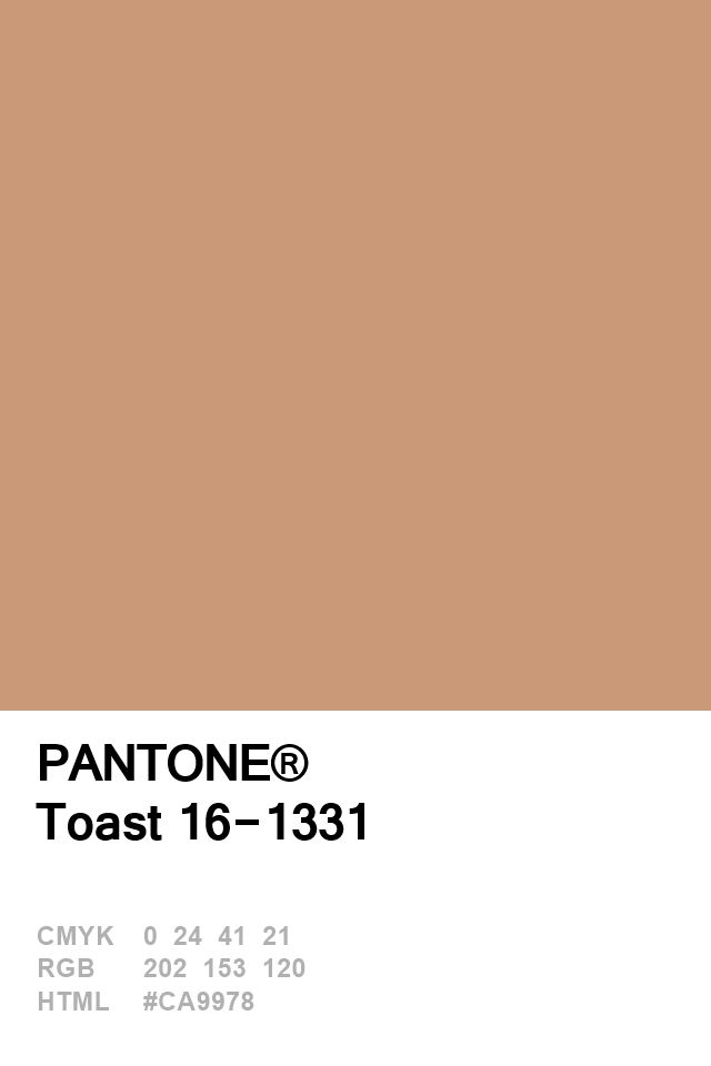 Color palette development to match my vintage sewing machine --- Pantone Toast 16-1331 Colour of The Day 03 January
