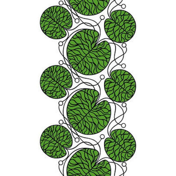 Marimekko Fabric - Cotton - Bottna 161 Green
