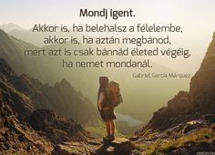 Gabriel García Márquez idézete a megbánásról.