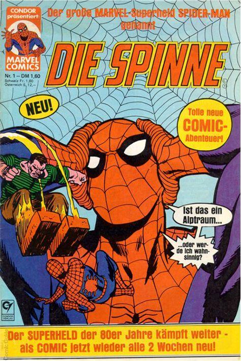 Comic - Die Spinne #001 Condor (1980)