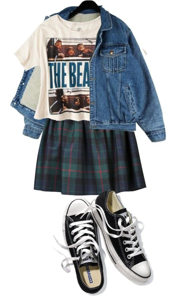 """The Beatles"" by lovely-child ❤ liked on Polyvore"