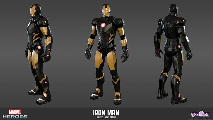 Альтернативные костюмы железного человека