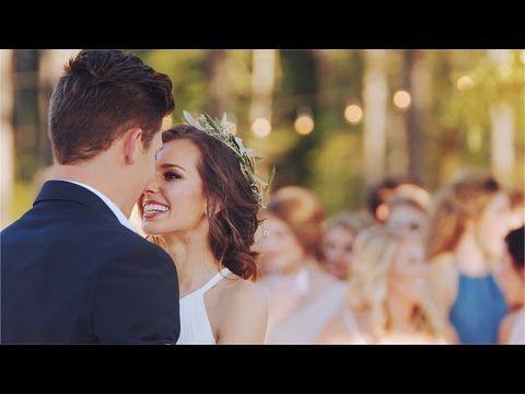 Boho Wedding // Ashley & David - YouTube
