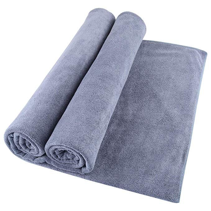 Microfiber Bath Towel Bath Sheets 2 Pack 32 X 71 Inch Oversized