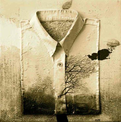 Une chemise couleur de temps… (Elfi Cella)
