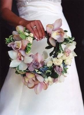 Contemporary bridal 'bouquet' design