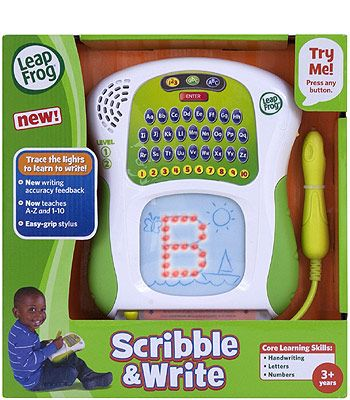 Lil Loves on Latest Leapfrog Scribble And Write
