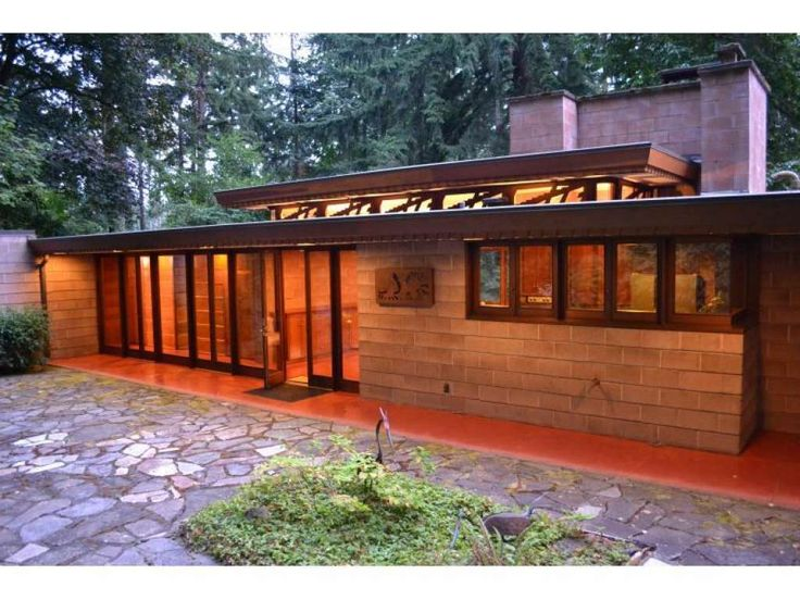4406 best frank lloyd wright usonian homes images on for Frank lloyd wright usonian home plans