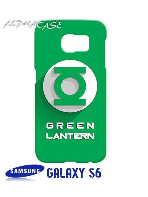 Green Lantern Superhero Samsung Galaxy S6 Case Hardshell