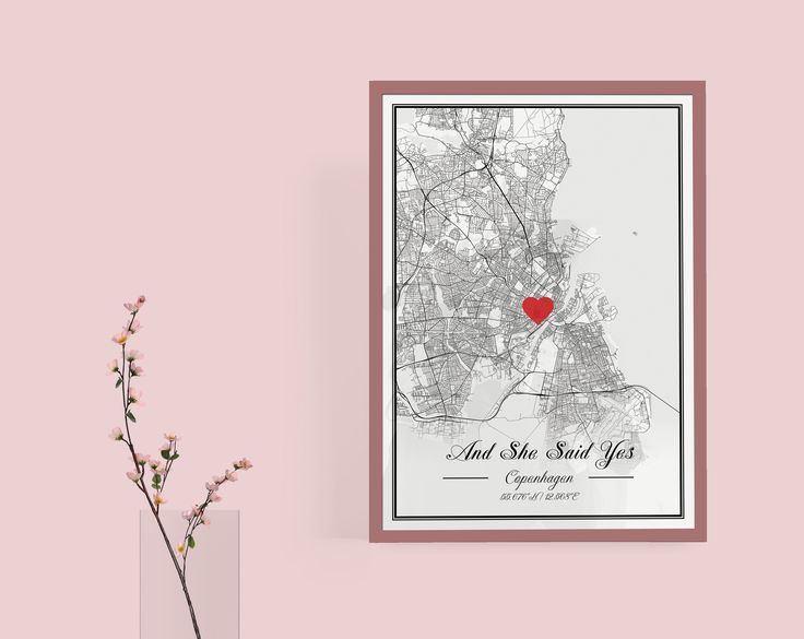 Happy Valentines Day! Today it's the day to make someone special really happy!  #mapify  #theartofmaps  #mapify.cc #interiordesign  #wallart  #blackandwhite  #posters #maps #valentines #gift #present #pink #love #heart