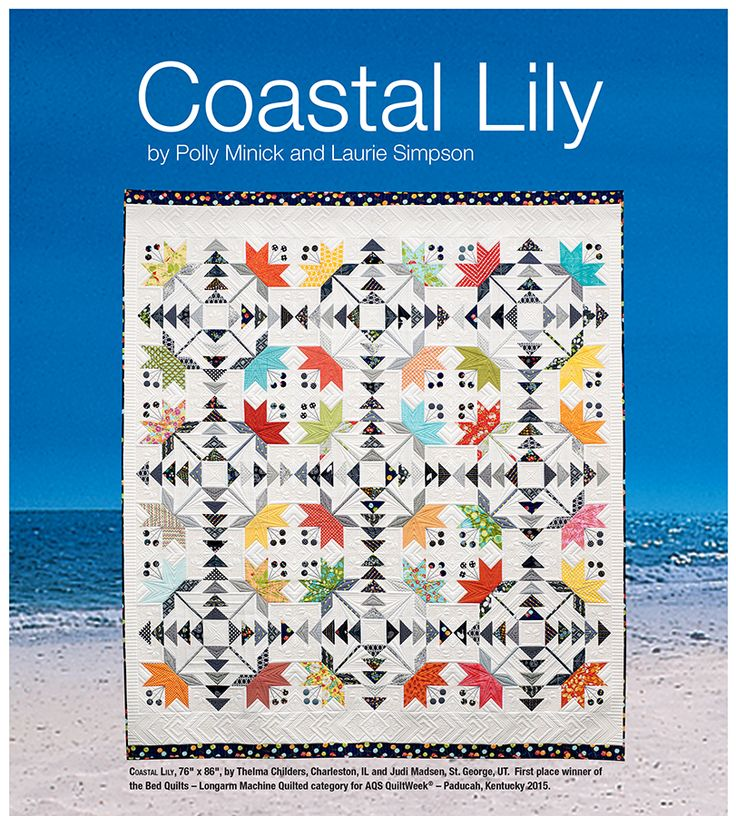 Coastal Lily in the July 2015 issue of AQ magazine.