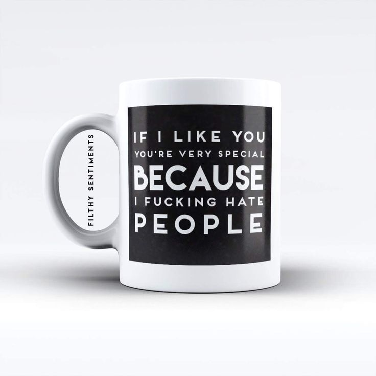 Add a Filthy Sentiments Mug to your kitchen or office, not for the sensitive souls out there, our filthy mugs come adorned in our very popular rude quotes, that aren't for the faint hearted! Our quirky mugs have the popular Filthy Sentiments quotes printed onto them. Remember... say it the filthy way.