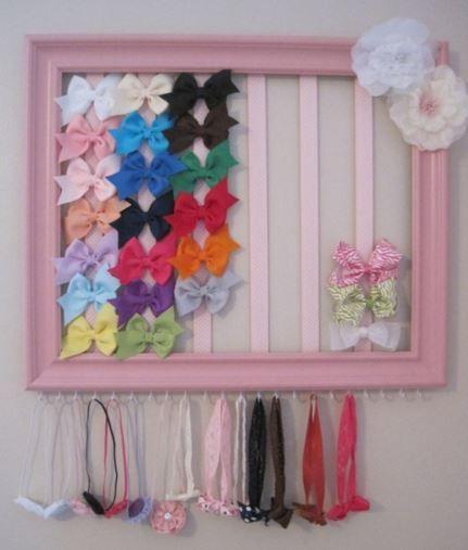 Las 25 mejores ideas sobre organizar los dormitorios de - Ideas para colgar diademas ...