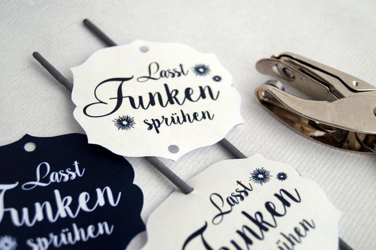 Labels für Wunderkerzen
