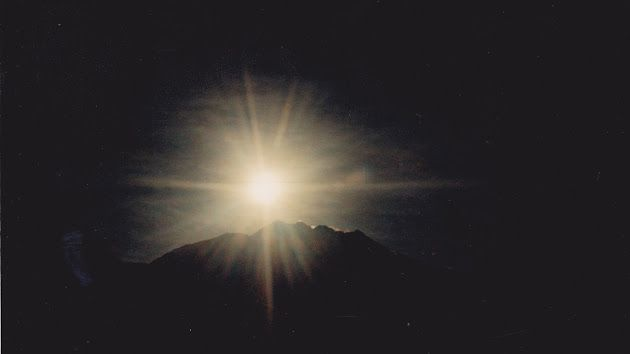 Volcán de Sotará - al amanecer. Rioblanco Cauca Colombia.