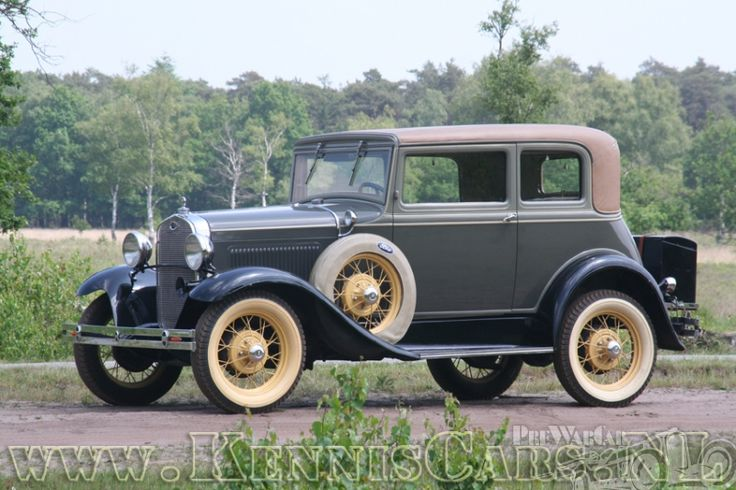 Ford Model A Victoria Coupe 1931.