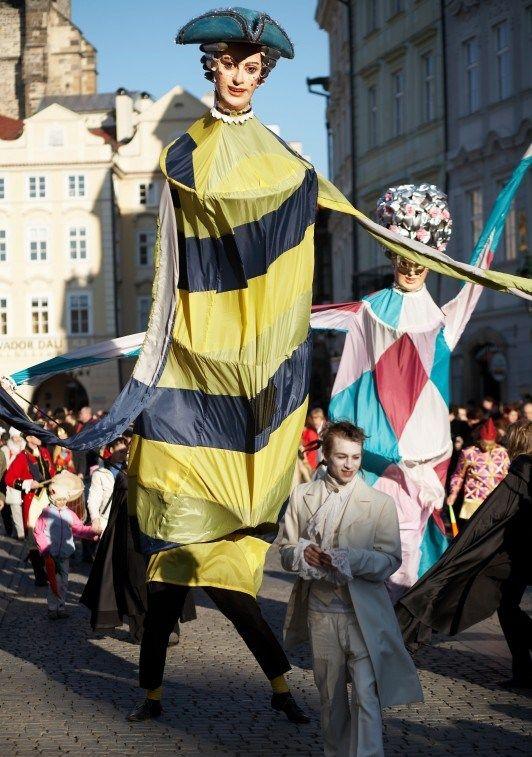 El #Carnaval de Bohemia en #Praga, República Checa es uno de los más antiguos y elegantes de #Europa
