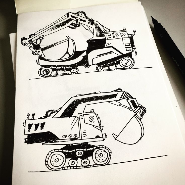 Monster excavators. Check more here: https://instagram.com/p/BUtzYvWlvSm/