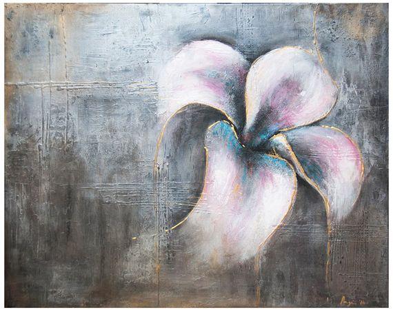 Emerging Elegance (2014) Acrylic on canvas 48 x 36 x 2