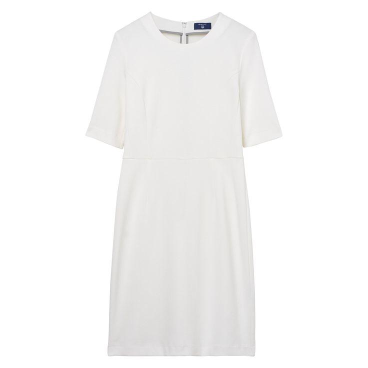 GANT Damen Jersey Piqué Stretchkleid (40) Weiß Jetzt bestellen unter: https://mode.ladendirekt.de/damen/bekleidung/kleider/sonstige-kleider/?uid=92cef8b3-e3b3-5507-bdf8-e031e783e51f&utm_source=pinterest&utm_medium=pin&utm_campaign=boards #sonstigekleider #kleider #bekleidung #women