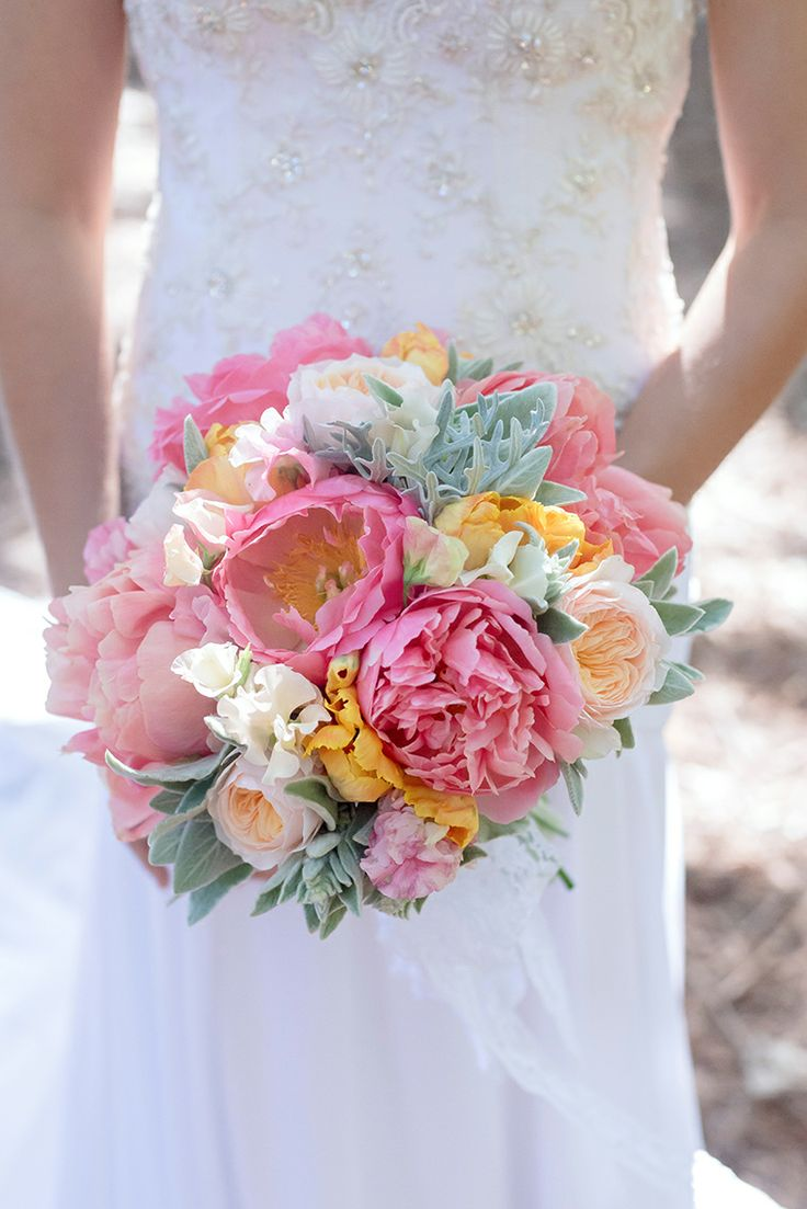 Bouquet peonies