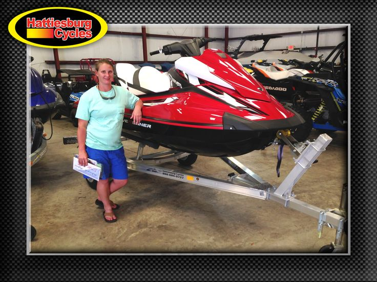 Thanks to Jennifer Shoemake from Mobile AL for getting a 2017 Yamaha VX Cruiser and a Magic Tilt trailer at Hattiesburg Cycles #Yamaha