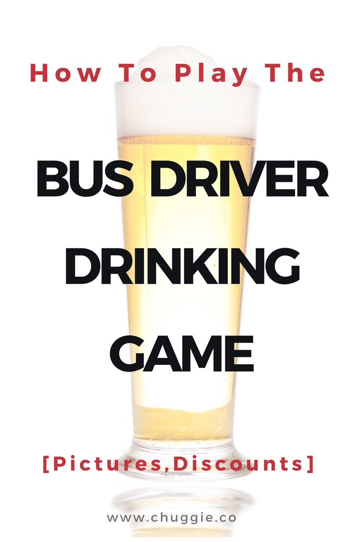 How To Play Ride The School Bus Drinking Game