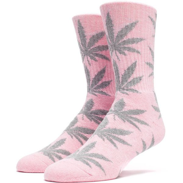 db192b09283 PLANTLIFE CREW SOCK HOL15 PINK HEATHER ( 12) ❤ liked on Polyvore featuring  intimates