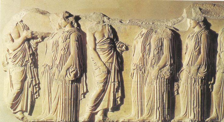 Fidias en el Partenón: Friso de las Panateneas, Etapa Clásica (447- 423 a de C.)