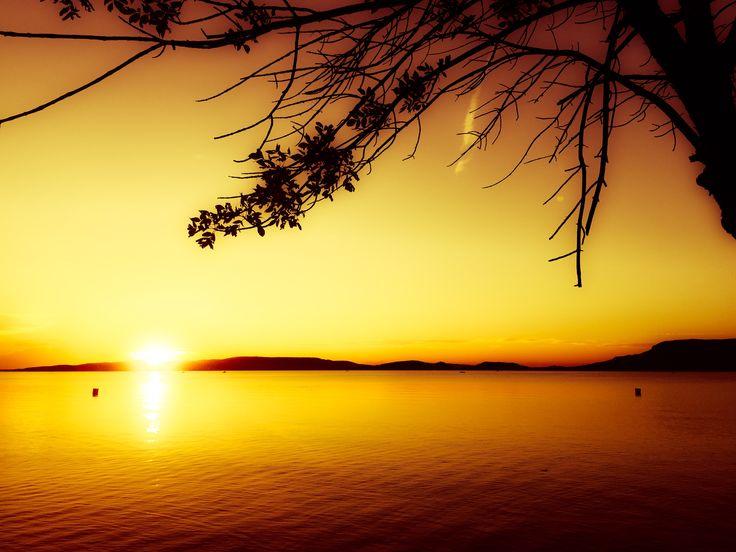 Balaton sunset Fonyód byedith hungary love