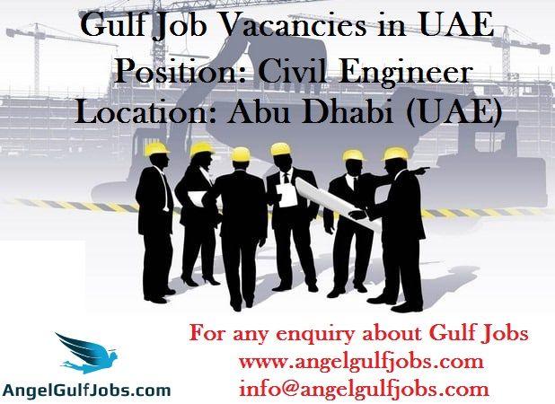 GulfJobVacancy in #AbuDhabi - #UAE #GulfJobsforIndian