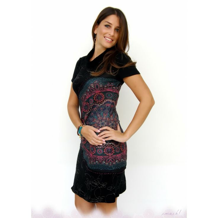 Black Nicia Smash Dress