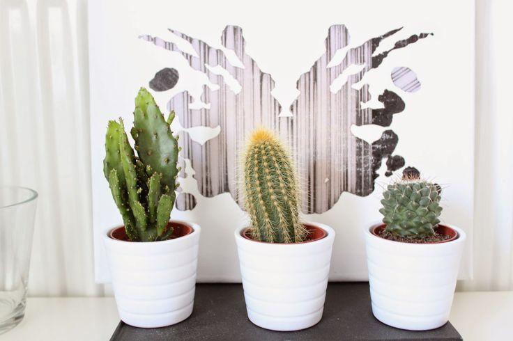 DIY wall art. Decoreer je bureau met en leuke canvas DIY