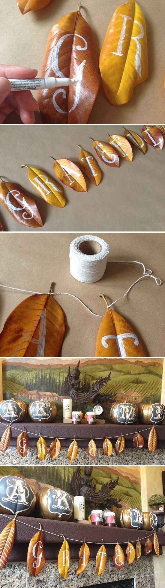 Community: 16 Awesome DIY Projects You Can Make With Fall Foliage: