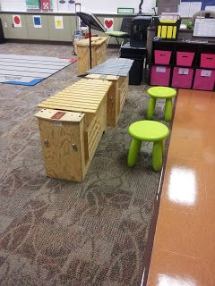 Mrs. Q's Music Blog- IKEA stools for the bass xylos!