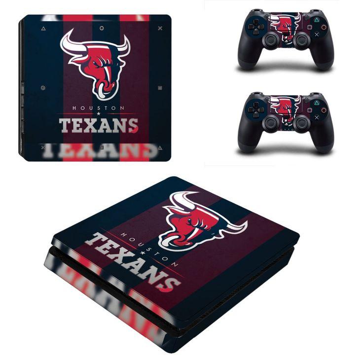 Skins Ps4 Slim - NFL Houston Texans Stickers - Livraison gratuite vers le monde entier